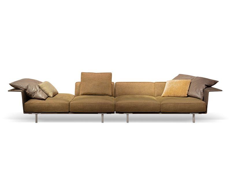 divano componibile rettilineo