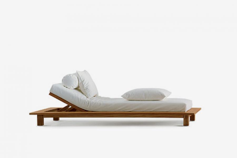 lettino reclinabile