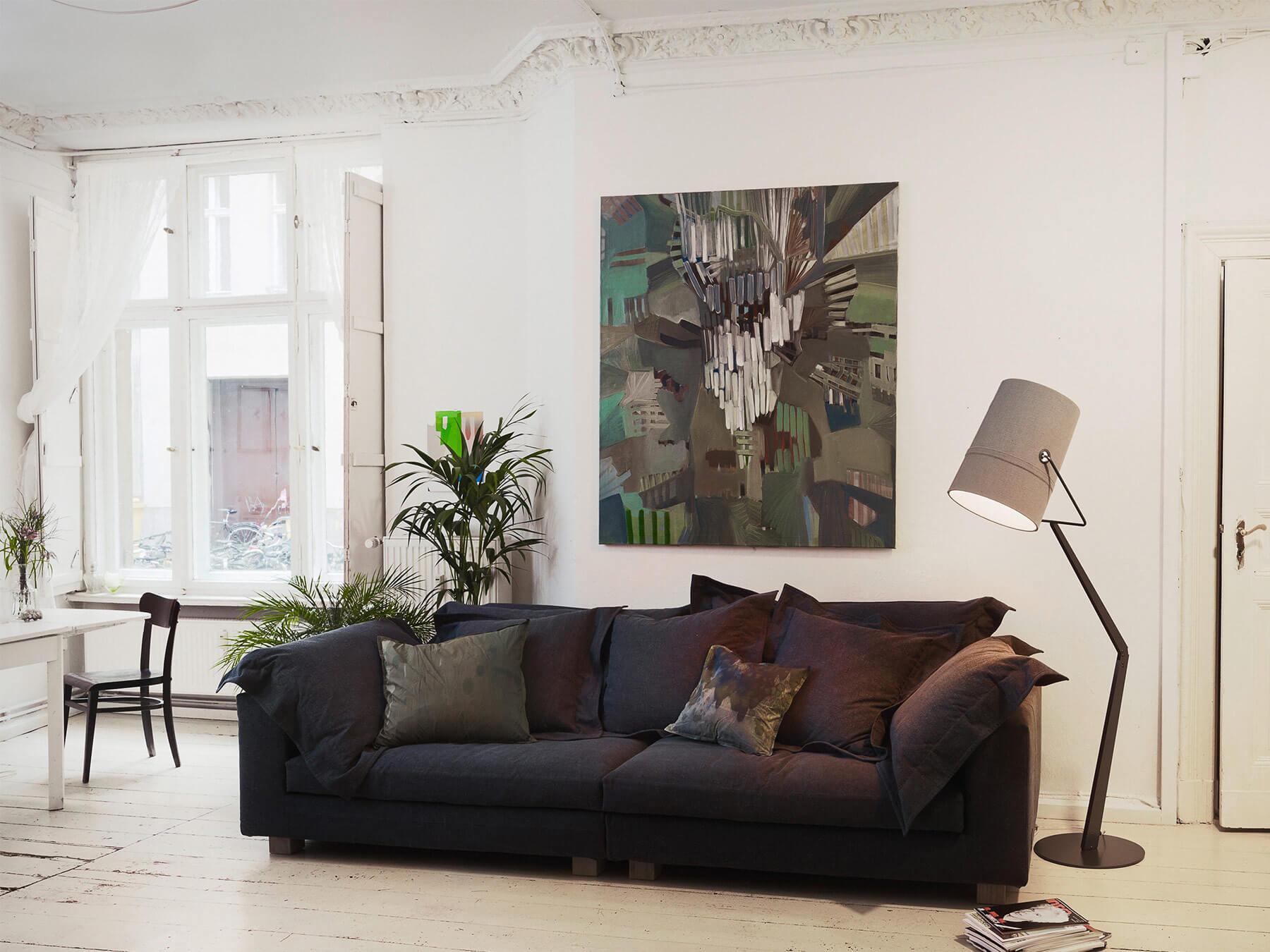 divano sfoderabile cuscini lino