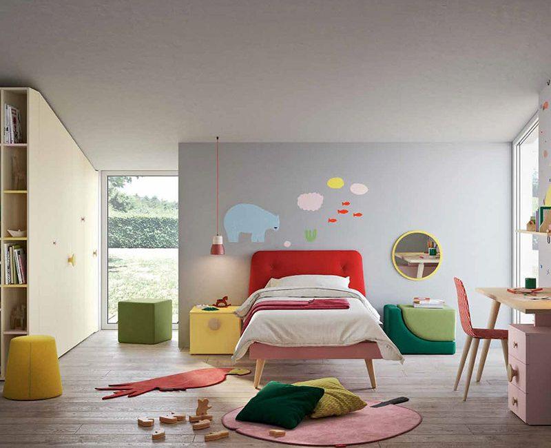 camera bambino nidi