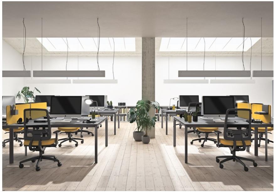 open space tavoli ufficio