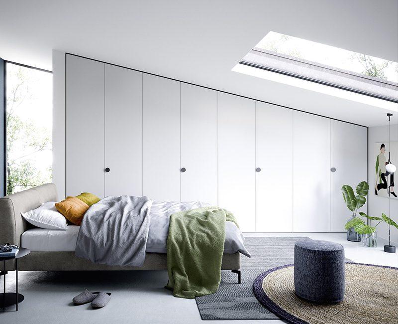 camera letto sottotetto