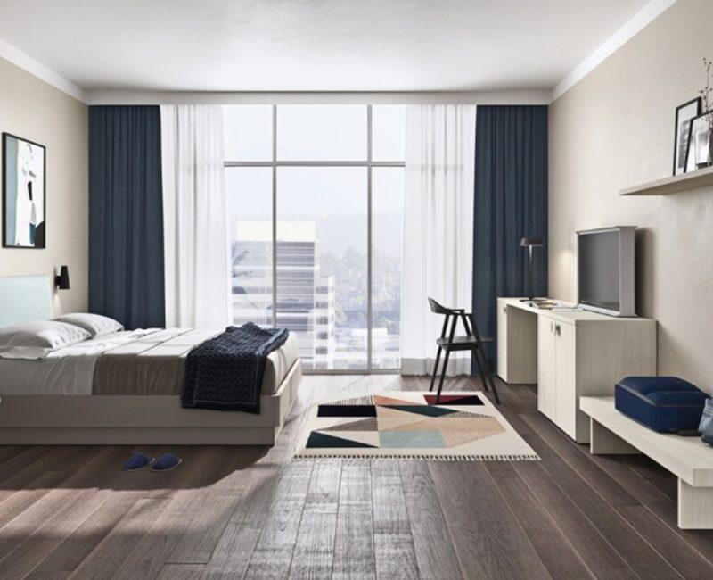 arredamento alberghi camera letto