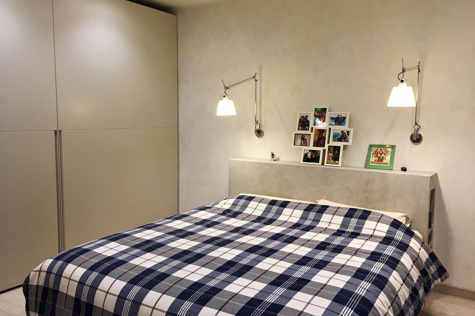 camera da letto arredo